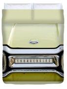 1954 Ford Thunderbird Taillight Emblem Duvet Cover