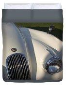 1954 Jaguar Xk 120 Se Roadster Duvet Cover