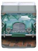 1955 Aston Martin Duvet Cover