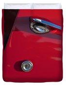 1955 Chevrolet 210 Door Handle Duvet Cover