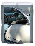 1955 Chevrolet Belair Dashboard 2 Duvet Cover