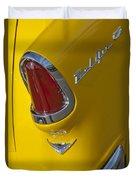 1955 Chevrolet Nomad Taillight Duvet Cover