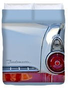 1955 Ford Fairlane Fordomatic Taillight Duvet Cover