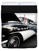 1956 Buick Century Profile 2 Duvet Cover