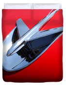 1956 Buick Riviera Special Duvet Cover