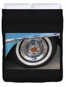 1956 Cadillac Front Wheel Duvet Cover