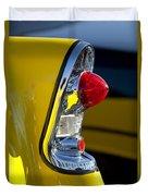 1956 Chevrolet Belair Taillight Duvet Cover