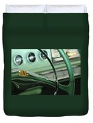1956 Dodge Coronet Steering Wheel Duvet Cover