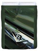 1956 Ford F-100 Truck Emblem 3 Duvet Cover