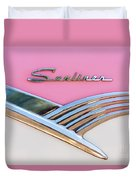 1956 Ford Fairlane Sunliner Duvet Cover