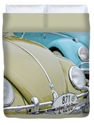 1956 Volkswagen Vw Bug Duvet Cover