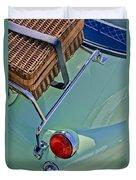 1957 Bmw Isetta 300 Motocoupe Taillight Duvet Cover