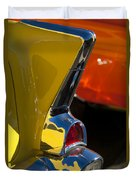 1957 Chevrolet Taillight Duvet Cover