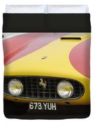 1957 Ferrari 250 Gt Lwb Scaglietti Berlinetta Duvet Cover