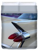 1958 Cadillac Tail Lights Duvet Cover