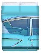 1958 Chevrolet Belair Duvet Cover