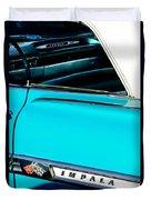 1959 Chevrolet Impala Duvet Cover