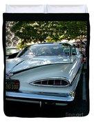1959 Chevrolet Impala Taillight Duvet Cover