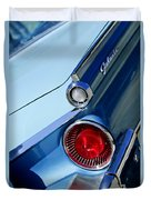 1959 Ford Skyliner Convertible Taillight Duvet Cover