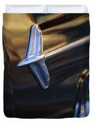 1960 Chevrolet El Camino Emblem Duvet Cover