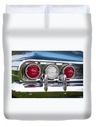 1960 Chevrolet Impala Tail Light Duvet Cover