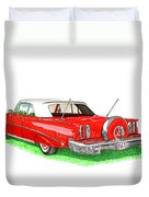 1960 Edsel Ranger Continental Kit Duvet Cover