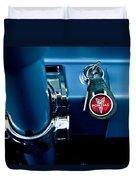 1961 Pontiac Catalina Key Ring Duvet Cover