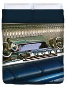 1961 Pontiac Catalina Radio Duvet Cover