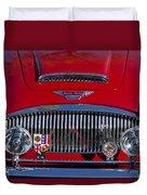 1962 Austin-healey 3000 Mkii Grille Duvet Cover
