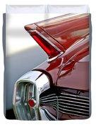 1962 Cadillac Eldorado Taillight Duvet Cover