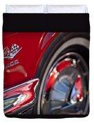 1962 Chevrolet Impala 409 Emblem Duvet Cover