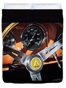 1963 Apollo Steering Wheel 2 Duvet Cover by Jill Reger