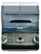 1963 Aston Martin Db4 Series V Vantage Gt Grille Duvet Cover by Jill Reger