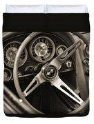 1963 Chevrolet Corvette Duvet Cover