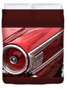 1963 Ford Galaxie 500 Duvet Cover