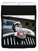 1963 Jaguar Mkii Fantasy Car Duvet Cover