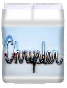 1964 Chrysler Emblem  Duvet Cover