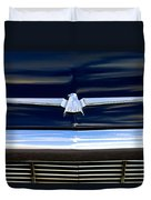 1964 Ford Thunderbird Emblem Duvet Cover