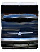 1964 Ford Thunderbird Hood Emblem Duvet Cover