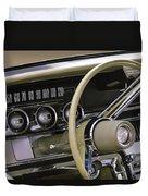 1964 Ford Thunderbird Steering Wheel Duvet Cover