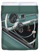 1964 Volkswagen Vw Steering Wheel 2 Duvet Cover