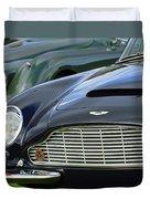 1965 Aston Martin Db6 Short Chassis Volante Duvet Cover