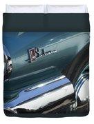 1965 Buick Lasabre Emblem Duvet Cover
