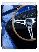 1965 Cobra Sc Steering Wheel 2 Duvet Cover
