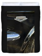 1965 Ford Mustang Emblem 3 Duvet Cover