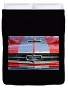 1965 Ford Mustang Front End Duvet Cover