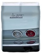 1966 Chevrolet Corvette Tail Light 2 Duvet Cover