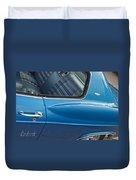 1966 Chevy Caprice Chevrolet Back Clip Duvet Cover
