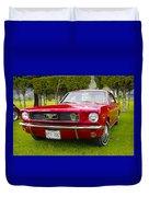 1966 Ford Mustang Duvet Cover