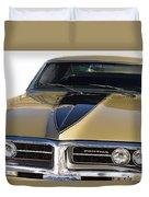 1967 Bronze Pontiac Firebird  Duvet Cover